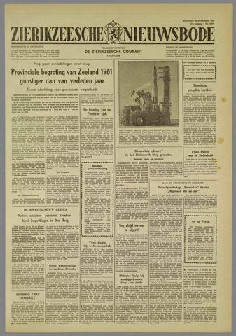 Zierikzeesche Nieuwsbode 1960-11-28