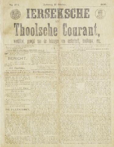 Ierseksche en Thoolsche Courant 1890-10-11