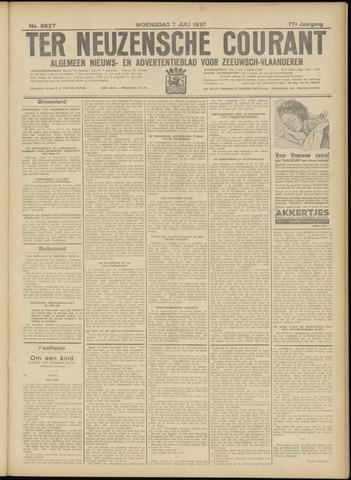 Ter Neuzensche Courant. Algemeen Nieuws- en Advertentieblad voor Zeeuwsch-Vlaanderen / Neuzensche Courant ... (idem) / (Algemeen) nieuws en advertentieblad voor Zeeuwsch-Vlaanderen 1937-07-07