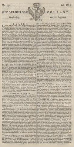 Middelburgsche Courant 1763-08-18