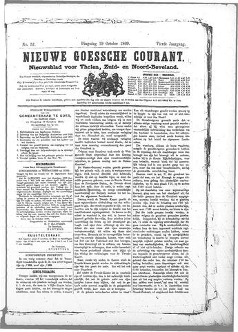 Nieuwe Goessche Courant 1869-10-19