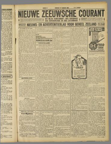 Nieuwe Zeeuwsche Courant 1929-02-26
