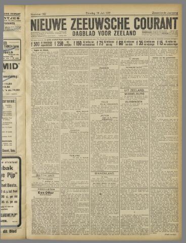 Nieuwe Zeeuwsche Courant 1921-07-19