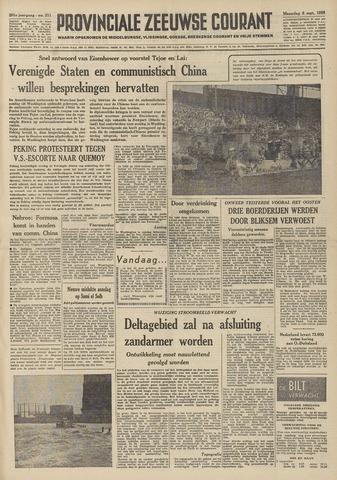 Provinciale Zeeuwse Courant 1958-09-08