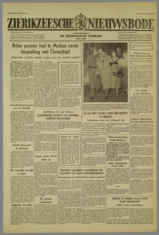 Zierikzeesche Nieuwsbode 1959-02-23