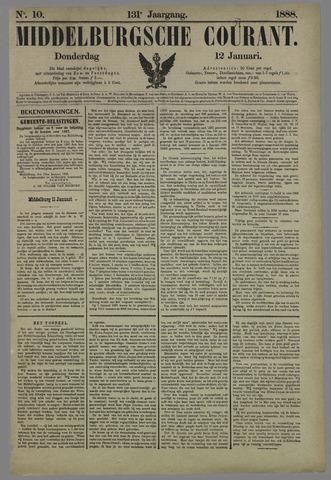 Middelburgsche Courant 1888-01-12