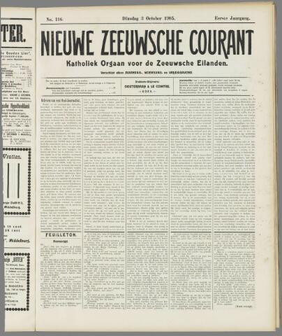 Nieuwe Zeeuwsche Courant 1905-10-03