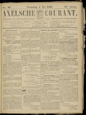 Axelsche Courant 1921-05-04