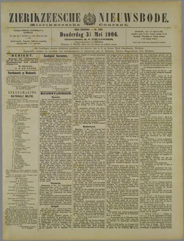 Zierikzeesche Nieuwsbode 1906-05-31