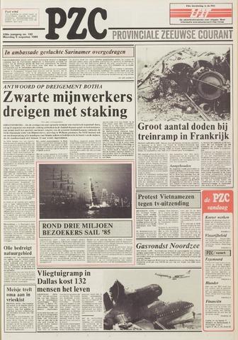 Provinciale Zeeuwse Courant 1985-08-05