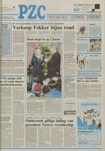 Provinciale Zeeuwse Courant 1992-10-26
