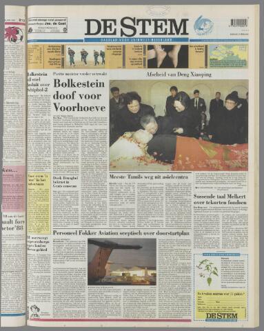 de Stem 1997-02-25
