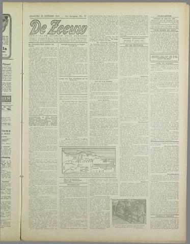 De Zeeuw. Christelijk-historisch nieuwsblad voor Zeeland 1943-01-26
