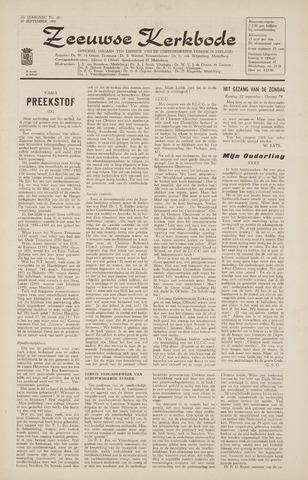 Zeeuwsche kerkbode, weekblad gewijd aan de belangen der gereformeerde kerken/ Zeeuwsch kerkblad 1965-09-10