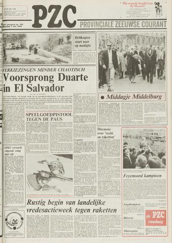Provinciale Zeeuwse Courant 1984-05-07