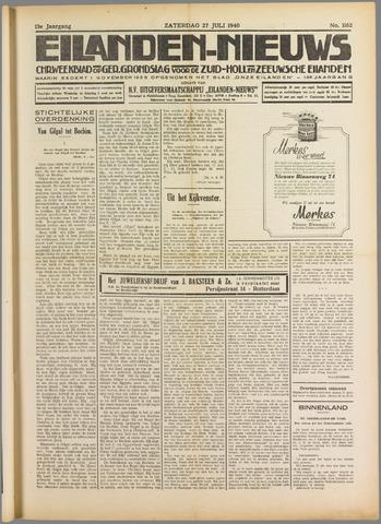 Eilanden-nieuws. Christelijk streekblad op gereformeerde grondslag 1940-07-27