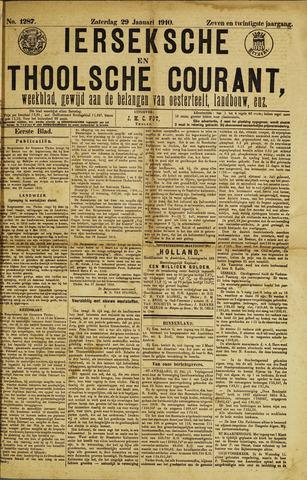 Ierseksche en Thoolsche Courant 1910-01-29