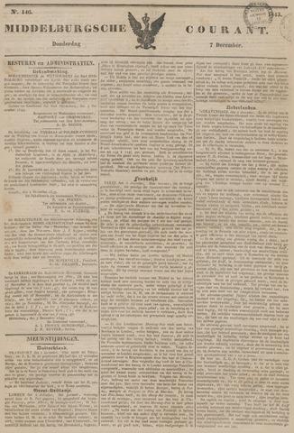 Middelburgsche Courant 1843-12-07