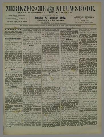 Zierikzeesche Nieuwsbode 1905-08-22