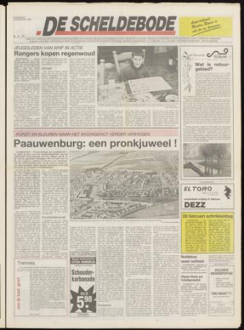 Scheldebode 1992-02-19