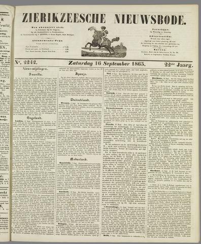 Zierikzeesche Nieuwsbode 1865-09-16