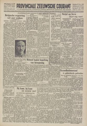 Provinciale Zeeuwse Courant 1946-11-30