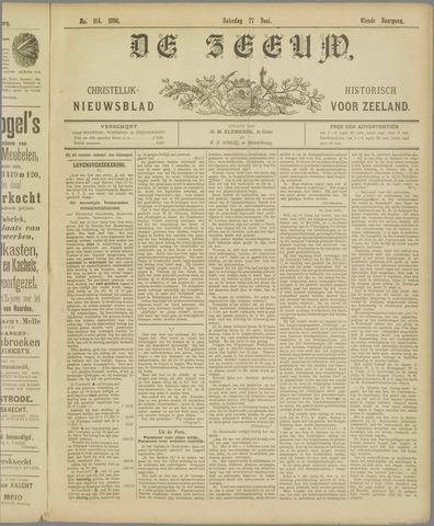 De Zeeuw. Christelijk-historisch nieuwsblad voor Zeeland 1896-06-27