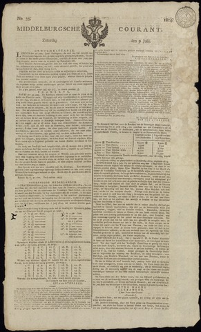 Middelburgsche Courant 1814-07-09