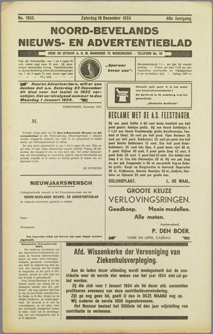 Noord-Bevelands Nieuws- en advertentieblad 1933-12-16