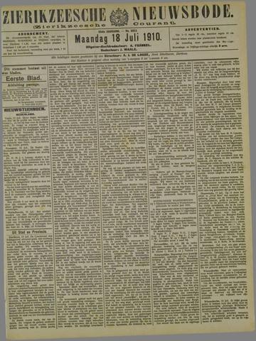 Zierikzeesche Nieuwsbode 1910-07-18
