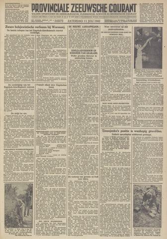 Provinciale Zeeuwse Courant 1942-07-11