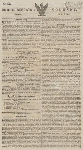 Middelburgsche Courant 1832-04-28