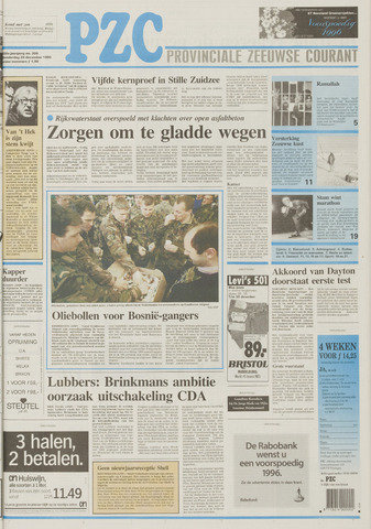 Provinciale Zeeuwse Courant 1995-12-28