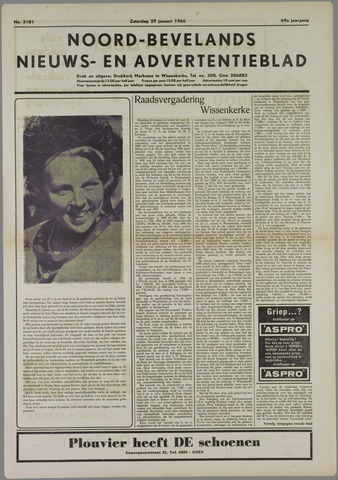 Noord-Bevelands Nieuws- en advertentieblad 1966-01-29