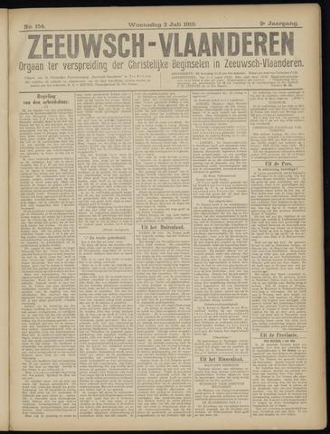Luctor et Emergo. Antirevolutionair nieuws- en advertentieblad voor Zeeland / Zeeuwsch-Vlaanderen. Orgaan ter verspreiding van de christelijke beginselen in Zeeuwsch-Vlaanderen 1919-07-02