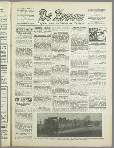 De Zeeuw. Christelijk-historisch nieuwsblad voor Zeeland 1937-11-30