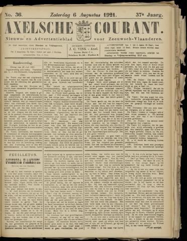 Axelsche Courant 1921-08-06