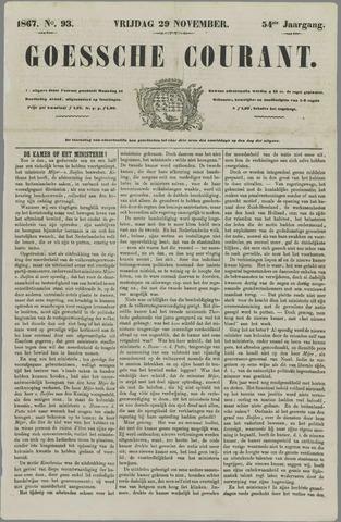 Goessche Courant 1867-11-29