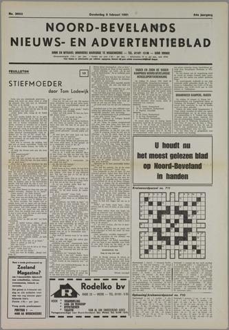Noord-Bevelands Nieuws- en advertentieblad 1981-02-05
