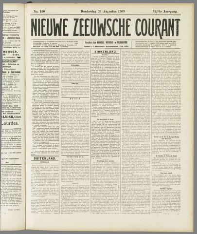 Nieuwe Zeeuwsche Courant 1909-08-26