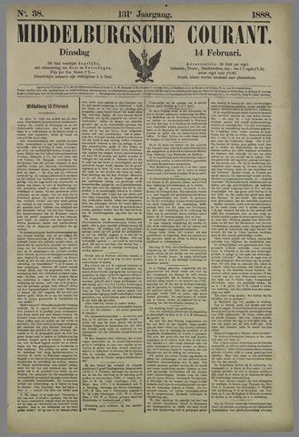 Middelburgsche Courant 1888-02-14
