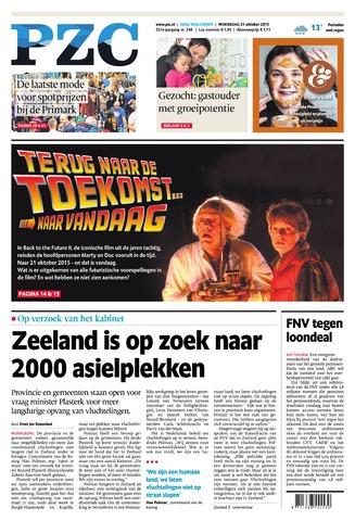 Provinciale Zeeuwse Courant 2015-10-21