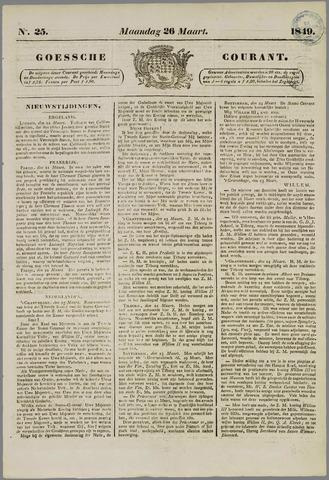 Goessche Courant 1849-03-26