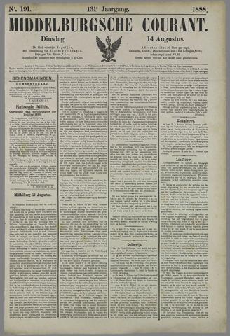 Middelburgsche Courant 1888-08-14