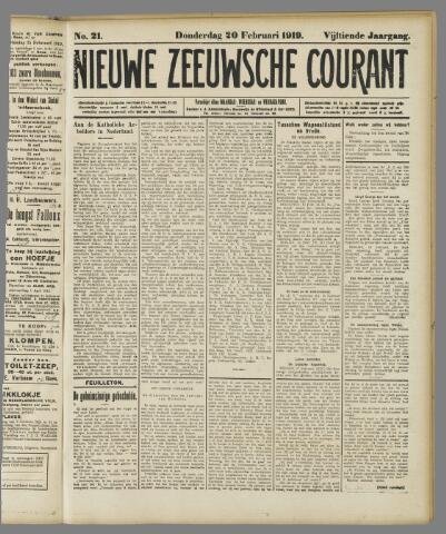 Nieuwe Zeeuwsche Courant 1919-02-20