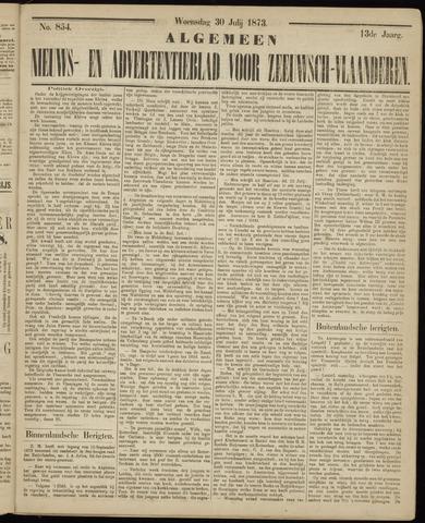 Ter Neuzensche Courant. Algemeen Nieuws- en Advertentieblad voor Zeeuwsch-Vlaanderen / Neuzensche Courant ... (idem) / (Algemeen) nieuws en advertentieblad voor Zeeuwsch-Vlaanderen 1873-07-30