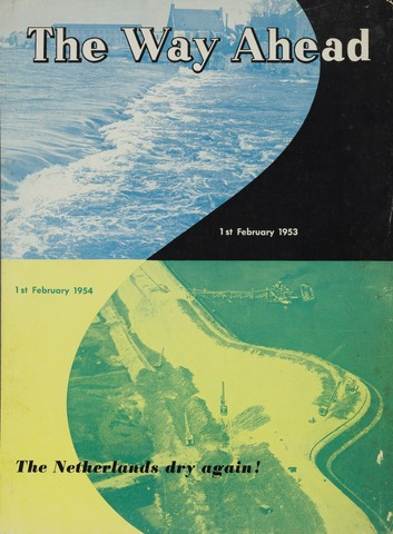 Watersnood documentatie 1953 - brochures 1954-01-02
