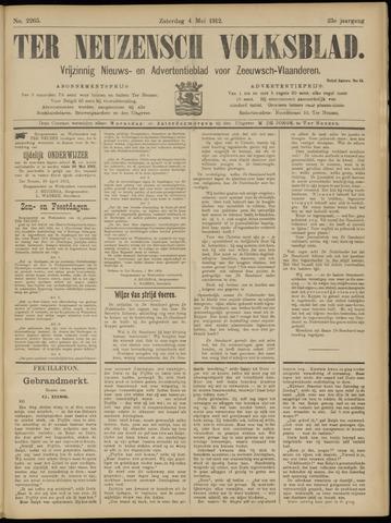 Ter Neuzensch Volksblad. Vrijzinnig nieuws- en advertentieblad voor Zeeuwsch- Vlaanderen / Zeeuwsch Nieuwsblad. Nieuws- en advertentieblad voor Zeeland 1912-05-04