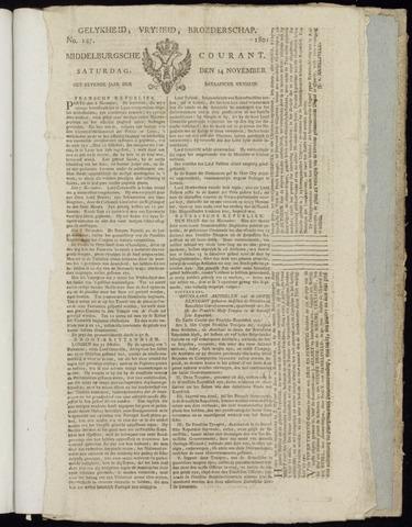 Middelburgsche Courant 1801-11-14