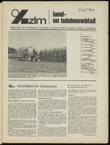 Zeeuwsch landbouwblad ... ZLM land- en tuinbouwblad 1972-09-08